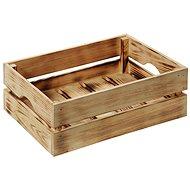 Kesper Dřevěná opálená bedýnka - Úložný box