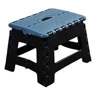 Kesper Stolička plastová černá - Dětský nábytek