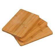 Kesper Sada tří prkének z bambusu, 22cm x 14cm x 1cm - Krájecí deska