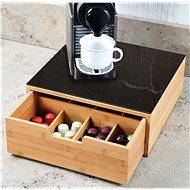 Kesper Box na kávovékapsle/ čajové sáčky, Bambus - Organizér