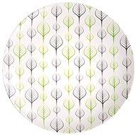 Kesper s dekorem listů, plastový, průměr 25 cm - Talíř