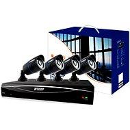 KGUARD 8-kanálový rekordér DVR + 4x barevná venkovní kamera - Kamerový systém