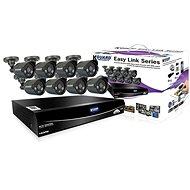 KGUARD hybridní 8kanálový DVR rekordér + 4x barevná venkovní kamera - Kamerový systém
