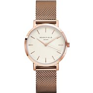 ROSEFIELD The Tribeca White Rosegold - Women's Watch