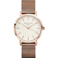 ROSEFIELD The Mercer White Rose Gold - Women's Watch