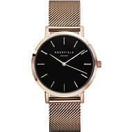 ROSEFIELD The Mercer Black Rosegold - Women's Watch