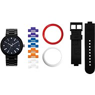 LEGO Watch 4 Stud Brick Black/Chrome 9007705 - Hodinky