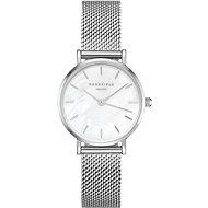 ROSEFIELD The Small Edit Silver mesh bracelet - Women's Watch
