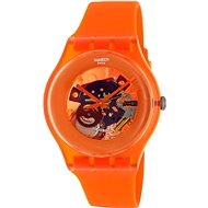 SWATCH model Orangish Lacquered SUOO100 - Hodinky