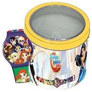 DISNEY SUPER HERO GIRLS - Tin Box 504919 - Dětské hodinky