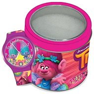 WALT DISNEY Trolls - Tin box 504602 - Dětské hodinky