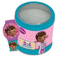 DISNEY DOC MCSTUFFINS (Dott.essa Peluche) - Tin Box 561146 - Dětské hodinky