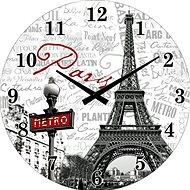 POSTERSHOP VM14S11997 Paris, 34 cm - Nástěnné hodiny