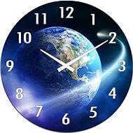 POSTERSHOP VM15AV012D Planeta Země, 30 cm - Nástěnné hodiny