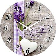 POSTERSHOP VM15A1032A Love You, 30 cm - Nástěnné hodiny
