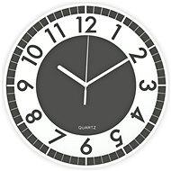 POSTERSHOP ZH09793-9U Moderní - šedá, 30 cm - Nástěnné hodiny
