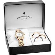 JACQUES DU MANOIR Royal BAG.03 - Dárková sada hodinek