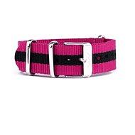 VUCH Nylonový pásek Silver Purple P892 - Řemínek