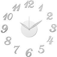Stardeco Wall Clock Sticker, Silver, HM-10X001