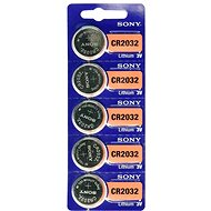 SONY CR2032 lithium 3V (5pcs) - Button Battery