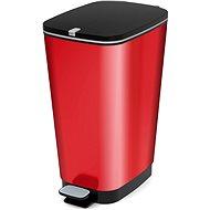 KIS Koš na odpad Chic Bin L - Metal Red 50l - Odpadkový koš