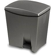 KIS Odpadkový koš Duetto 10l+ 20l šedý - Odpadkový koš