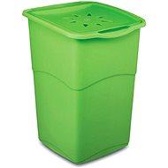 KIS Koš na špinavé prádlo Koral Basket - zelený 47l - Koš na prádlo