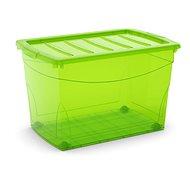 KIS Omnibox XL zelený 60l na kolečkách - Úložný box