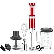 KitchenAid Artisan tyčový mixér bezdrátový červená metalíza
