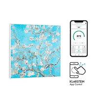 Klarstein Wonderwall Air Art Smart, mandlový květ - Elektrické topení