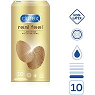 DUREX Real Feel 10 ks - Kondomy