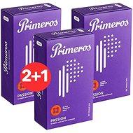 PRIMEROS Passion 3 × 12 ks - Kondomy