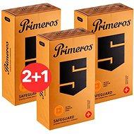 PRIMEROS Safeguard 3 × 12 ks - Kondomy