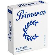 PRIMEROS Classic kondomy z kvalitního latexu, 3 ks - Kondomy