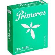 PRIMEROS Tea Tree kondomy svůní čajovníku australského, 3 ks - Kondomy