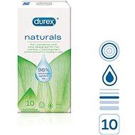 DUREX Naturals 10 ks - Kondomy