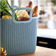KNIT - Blue - Shopping Bag