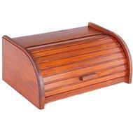 KOLIMAX box na pečivo 42 cm buk, barva mahagon - Chlebník