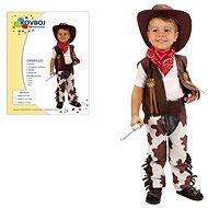Kostým Kovboj vel. M - Dětský kostým
