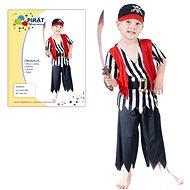 Šaty na karneval - Pirát vel. XS - Dětský kostým