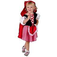 Šaty na karneval - Červená Karkulka vel. XS - Dětský kostým