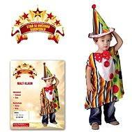 Kostým Malý klaun vel. S - Dětský kostým