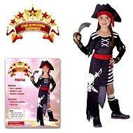 Kostým Pirátka vel. S - Dětský kostým