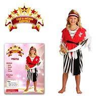 Šaty na karneval - Pirátka vel. S - Dětský kostým