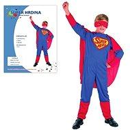 Kostým Super hrdina vel. M   - Dětský kostým