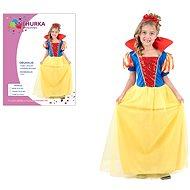 Šaty na karneval - Sněhurka vel. M - Dětský kostým