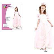 Šaty na karneval - Růženka vel. M - Dětský kostým