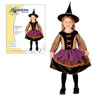 Šaty na karneval - Čarodějka vel. XS - Dětský kostým