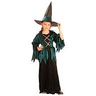 Šaty na karneval - Malá čarodějka vel. M - Dětský kostým