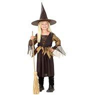 Šaty na karneval - Čarodějnice vel. L - Dětský kostým